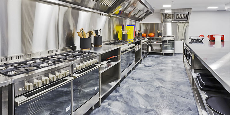 Commercial Food Production Kitchen